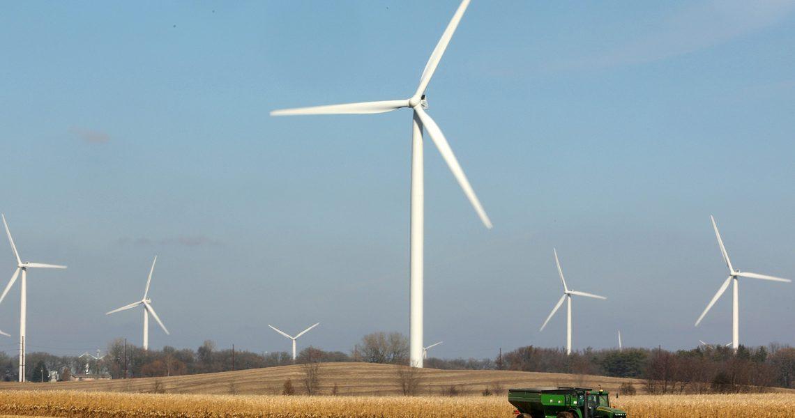 Где в Украине установлены ветрогенераторы